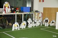 Roboter-Fußball