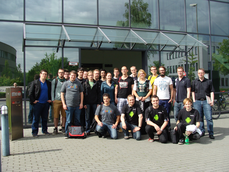 Gruppenfoto DroidDay 2012